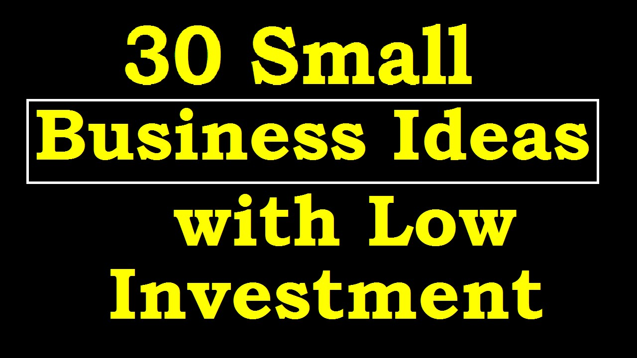 Best Business Ideas With Low Investment And High Profit In India